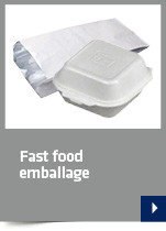 Fast food emballage