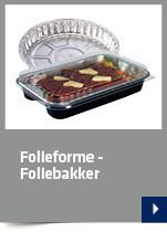 Folieforme - Foliebakker