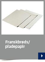 Franskbrøds/pladepapir