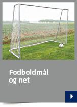 Fodboldmål og net