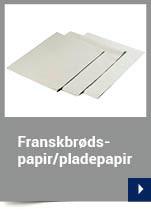 Franskbrødspapir/pladepapir