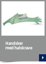 Handsker med halskrave