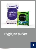 Hygiejne pulver