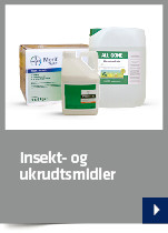Insekt- og ukrudtsmidler