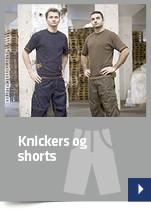 Knickers og shorts