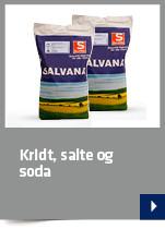 Kridt, salte og soda