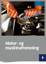 Motor- og maskinafrensning