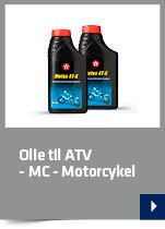 Olie til ATV - MC - Motorcykel