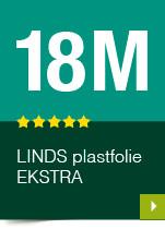 LINDS Plastfolie Ekstra, 18 m