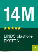 LINDS Plastfolie Ekstra, 14 m