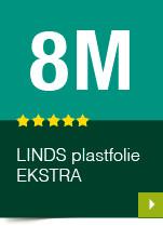 LINDS Plastfolie Ekstra, 08 m