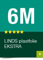 LINDS Plastfolie Ekstra, 06 m