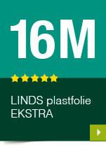 LINDS Plastfolie Ekstra, 16 m