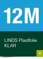 LINDS Plastfolie Klar, 12 m