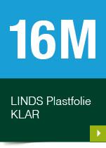 LINDS Plastfolie Klar, 16 m