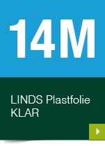 LINDS Plastfolie Klar, 14 m