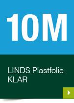 LINDS Plastfolie Klar, 10 m