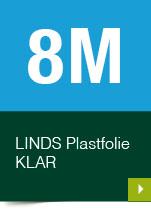 LINDS Plastfolie Klar, 08 m