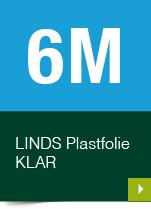 LINDS Plastfolie Klar, 06 m