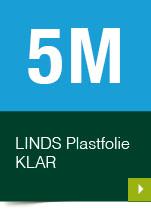 LINDS Plastfolie Klar, 05 m