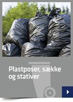 Plastposer, sække og stativer