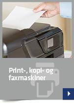 Print-, kopi- og faxmaskiner
