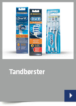 Tandbørster og tandpasta