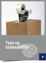 Tape og klæbestoffer
