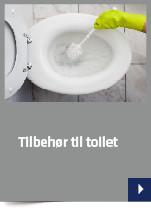 Tilbehør til toilet