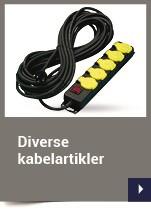 Diverse kabelartikler