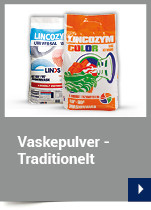 Vaskepulver - Traditionelt