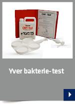 Yver bakterie-test