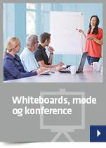 Whiteboards, møde og konference
