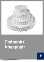 Fadpapir rund
