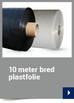 10 meter bred plastfolie