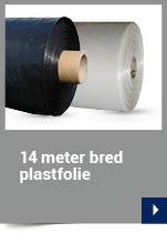 14 meter bred plastfolie