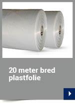 20 meter bred plastfolie