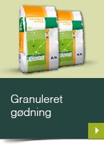 Granuleret gødning