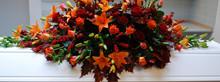 Kistepynt i efterårets farver