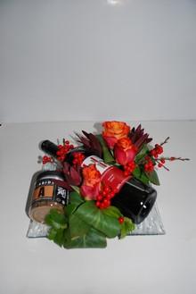 Shiraz rødvin og johan bülow lakrids