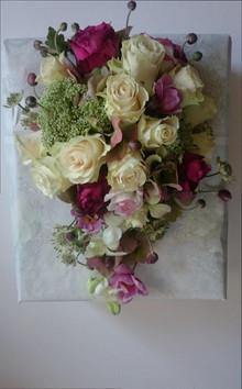 Romantisk brudebuket