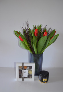 Tulipaner, chokolade og lakrids