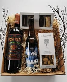 Rødvin, chokolade og øl