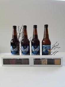 Special øl og summerbird chokolade