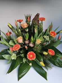 Dekoration med tulipaner