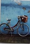 Dobbelt kort med cykel