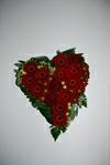 Hjerte med gerbera