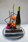 Chokolade, vin og blomster