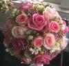 Brudebuket med roser