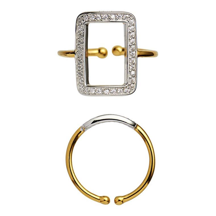 Stine A Vintage Square Ring